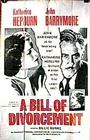 A Bill of Divorcement Poster