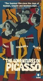 The Adventures of Picasso Poster