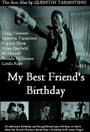 My Best Friend's Birthday Poster