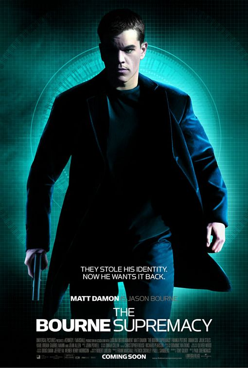 Poster del film The Bourne Supremacy