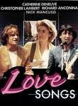 Love Songs poster Catherine Deneuve Margaux