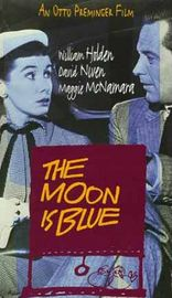 The Moon Is Blue Poster