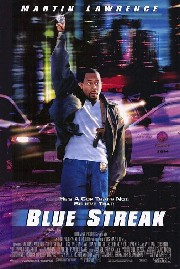Blue Streak Poster