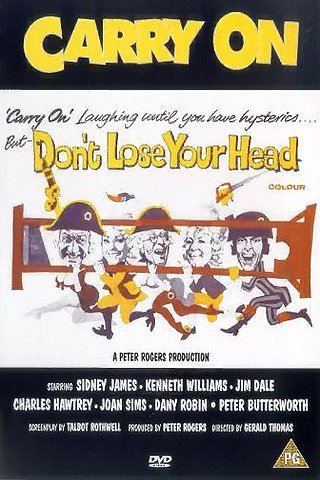 Carry On: Don't Lose Your Head (Carry on Pimpernel)