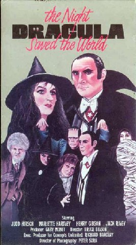The Halloween That Almost Wasn't (The Night Dracula Saved the World)