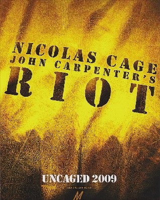 Riot (John Carpenter's Riot) (Scared Straight)