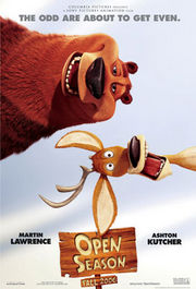 Open Season Poster