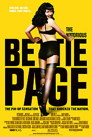 The Notorious Bettie Page Poster