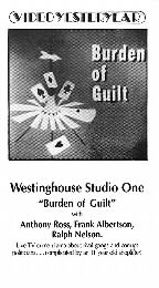 Westinghouse Studio One -
