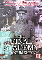 William S. Burroughs - Final Academy Documents