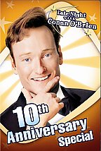 Late Night With Conan O\'Brien - 10th Anniversary Special Cover