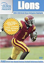 On The Clock Sports Video Production Presents - Lions 2005 Draft Picks Collegiate Highlights