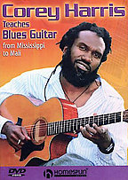 Corey Harris Teaches Blues Guitar -  From Mississippi to Mali