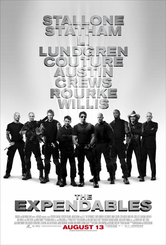 Poster del film I mercenari - The expendables