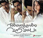 Vinnaithaandi Varuvaayaa (Will You Cross the Skies for Me?)