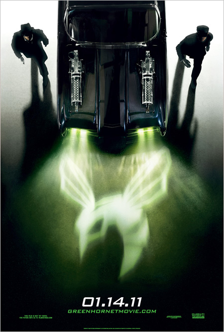 Poster del film The Green Hornet