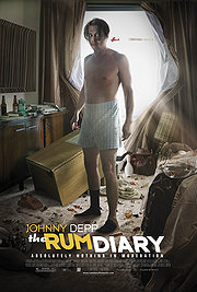 The Rum Diary poster Johnny Depp Paul Kemp