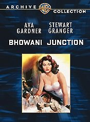 Bhowani Junction poster Ava Gardner Victoria Jones
