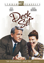 Desk Set poster Spencer Tracy Richard Sumner