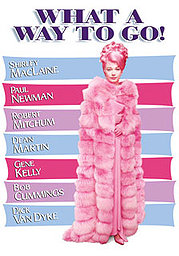 What a Way to Go! poster Shirley MacLaine Louisa