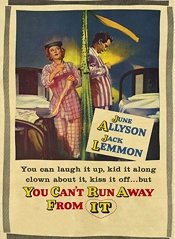 You Can't Run Away From It (1956)
