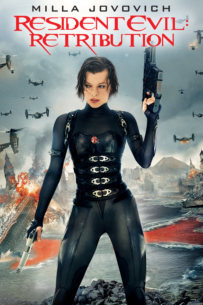 Poster del film Resident Evil: Retribution