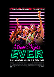Poster Best Night Ever (2014) Movie