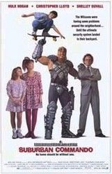 Suburban Commando Poster