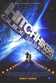 The Hitchhiker&#039;s Guide to the Galaxy Poster