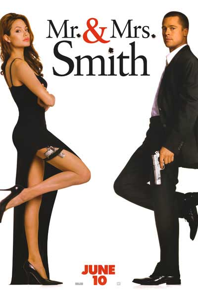 Poster del film Mr. & Mrs. Smith