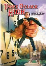 Three O'Clock High Poster