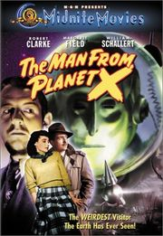The Man from Planet X Poster