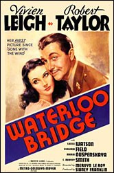 Waterloo Bridge poster Vivien Leigh Myra