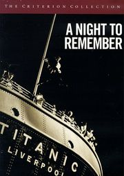 A Night to Remember poster Kenneth More Herbert Lightoller