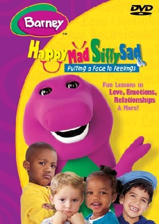 Barney - Happy Mad Silly Sad