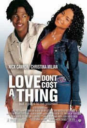 Love Don&#039;t Cost a Thing Poster