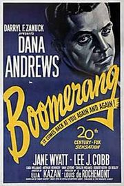 Boomerang! Poster