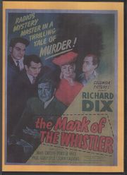The Mark of the Whistler (The Marked Man)