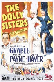 The Dolly Sisters poster Betty Grable Jenny Dolly