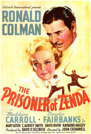 The Prisoner of Zenda film poster