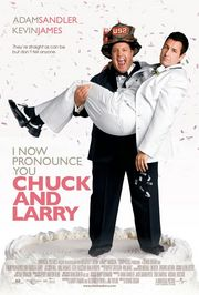I Now Pronounce You Chuck &amp; Larry Poster