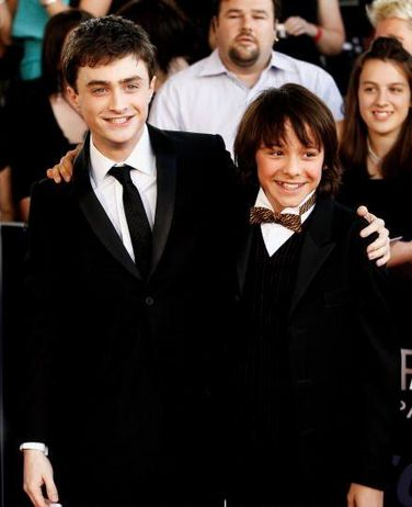 Daniel Radcliffe and Christian Byers