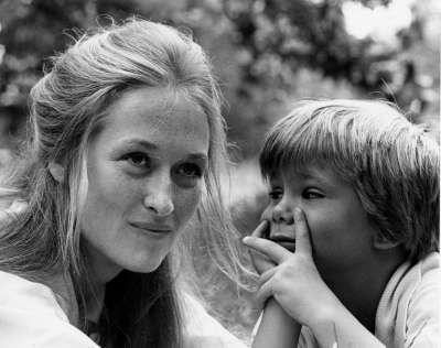 Meryl Streep and Justin Henry in Kramer vs. Kramer