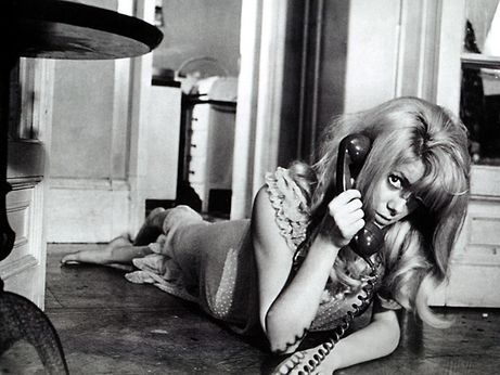 Deneuve in 'Repulsion'