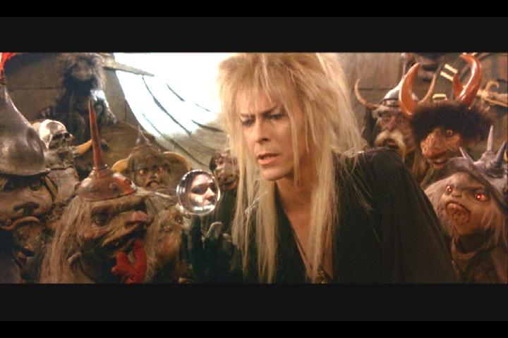 The Goblin King Spying on Sarah