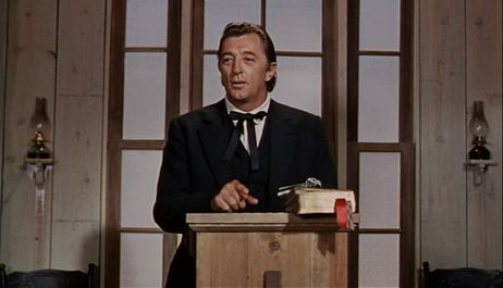 Robert Mitchum  ...  The Rev. Jonathan Rudd