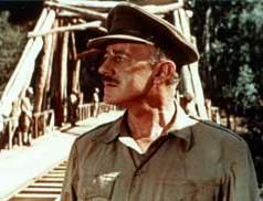 Alec Guinness in The Bridge on the River Kwai