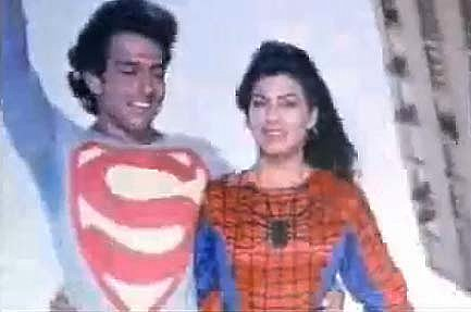 Watch This: Spider-Woman and Superman In Bollywood Love
