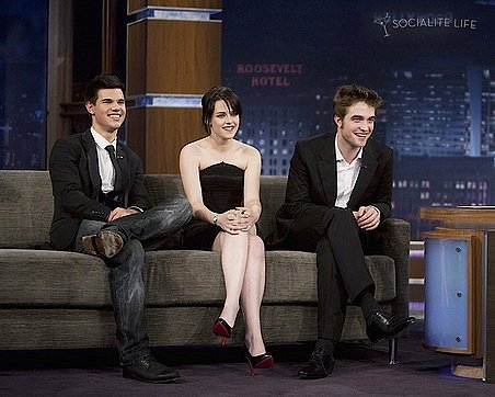 robert pattinson and kristen stewart and taylor lautner. Robert Pattinson, Kristen