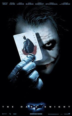 Heath Ledger's death was tragic, and this picture is in his honor.